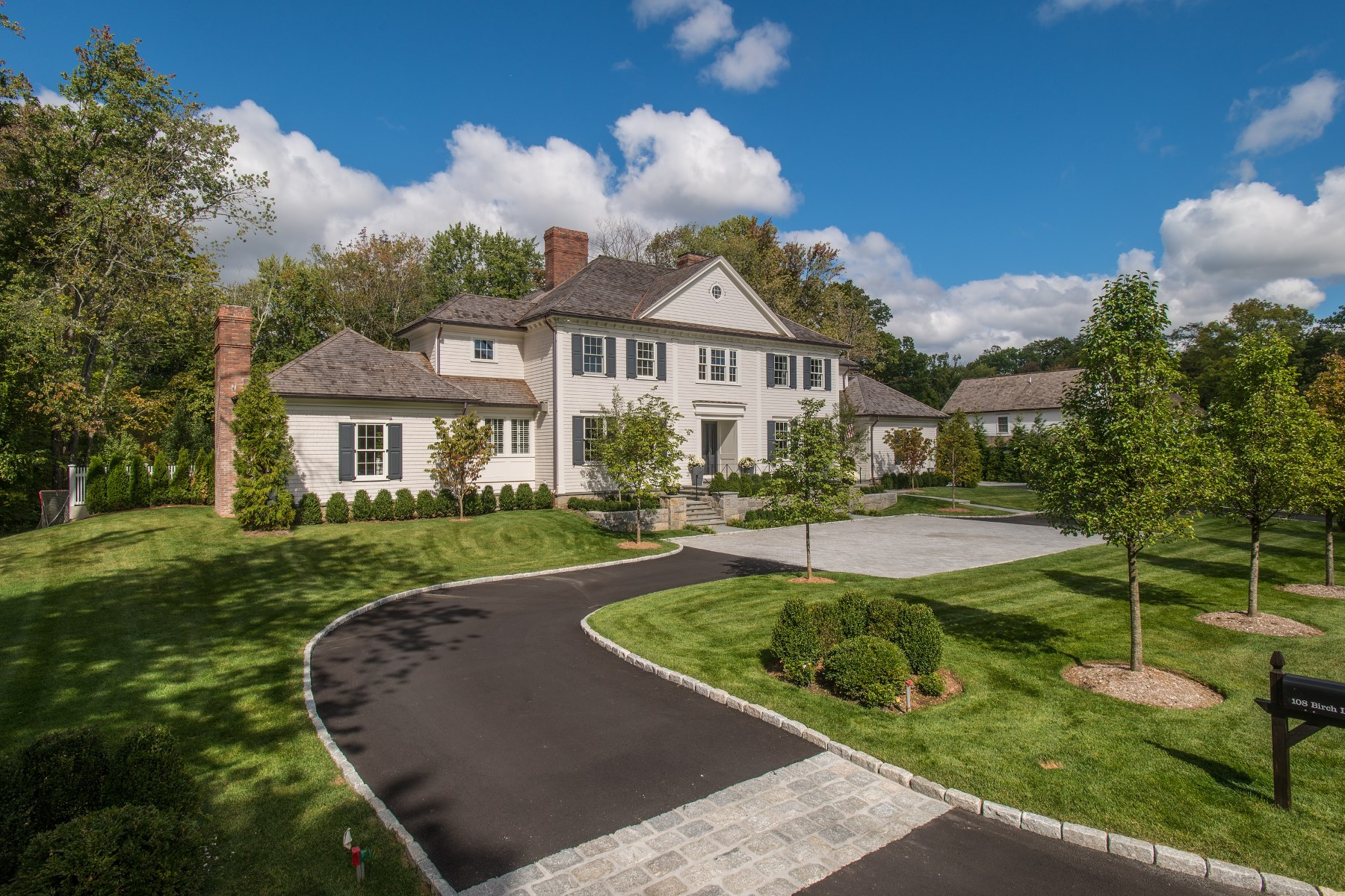 Single Family Home for Sale at Birch Lane 108 Birch Lane South Of Parkway, Greenwich, Connecticut, 06830 United States