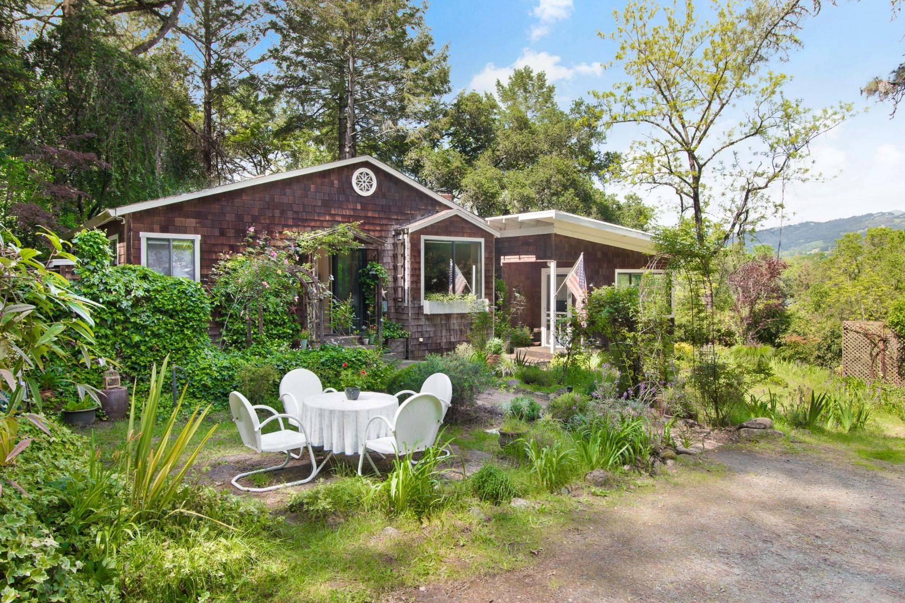 農場/牧場 / プランテーション のために 売買 アット Alexander Valley Cottage and Farm 14722 Chalk Hill Rd Healdsburg, カリフォルニア, 95448 アメリカ合衆国
