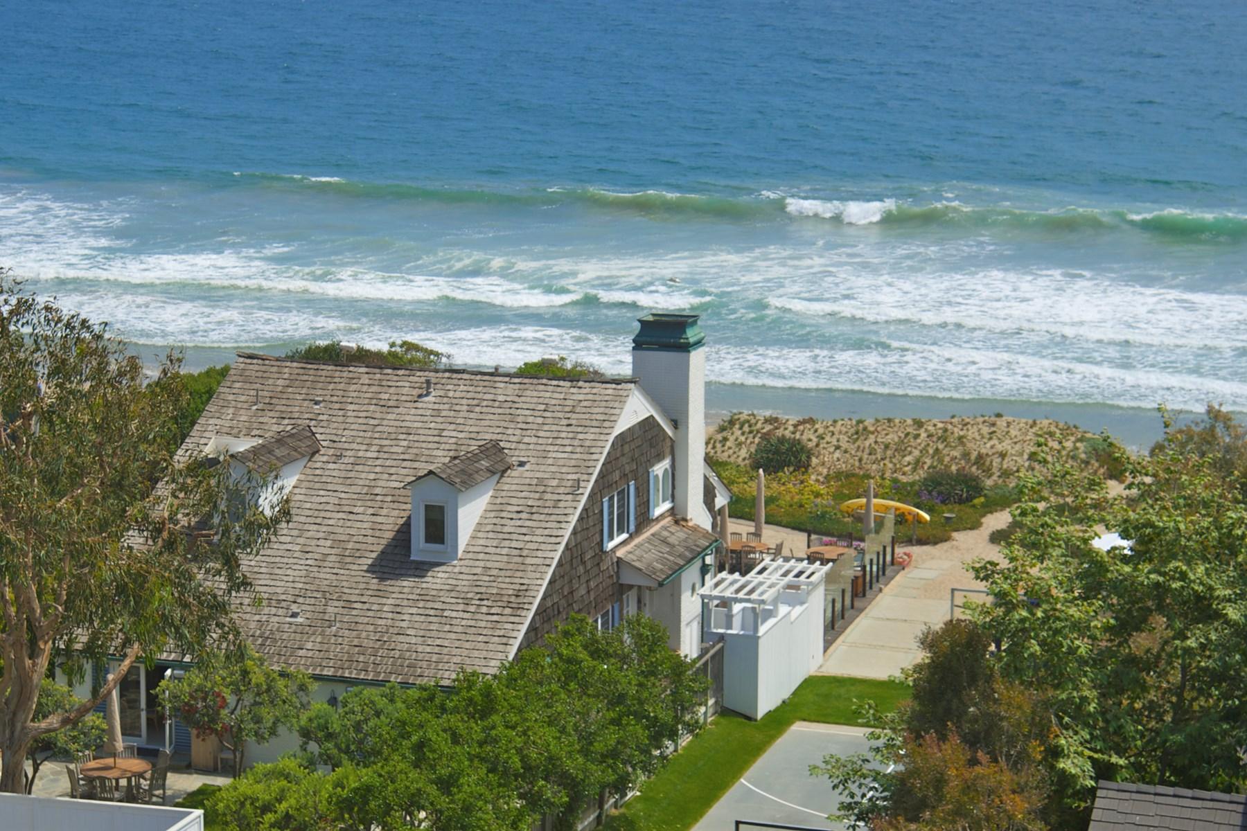 Maison unifamiliale pour l Location à Broad Beach Road Cape Cod Lease 31202 Broad Breach Rd Malibu, Californie, 90265 États-Unis
