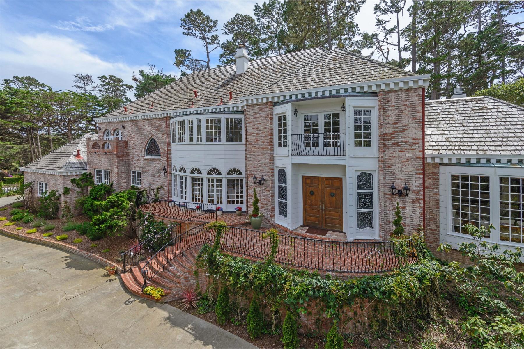 Single Family Home for Sale at Carnoustie Manor in Pebble Beach 1284 Portola Road Pebble Beach, California, 93953 United States