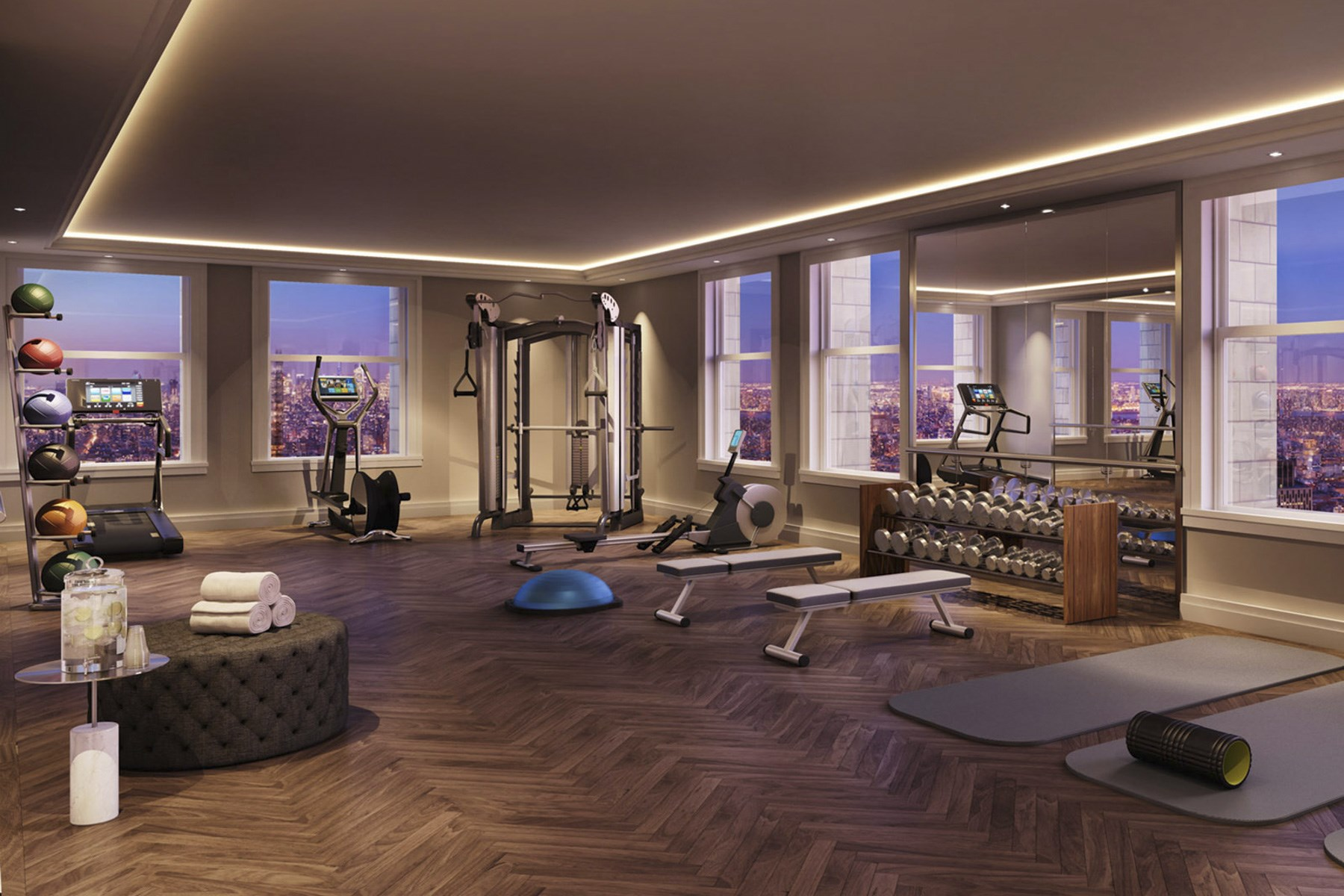 Condominium for Sale at The Woolworth Tower Residences - 47B 2 Park Place Apt 47B Tribeca, New York, New York, 10007 United States