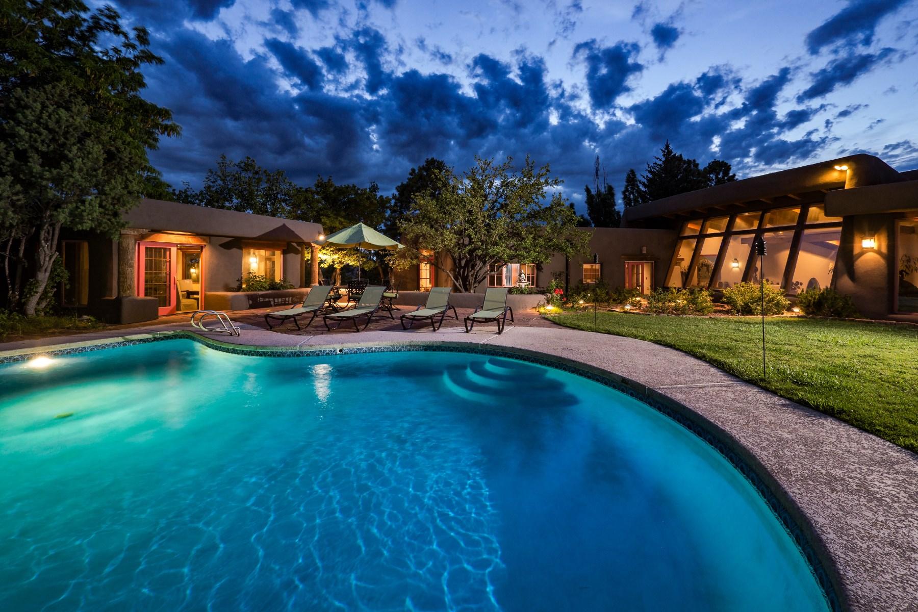 獨棟家庭住宅 為 出售 在 69 E. Estrada Calabasa Northwest Of City Limits, Santa Fe, 新墨西哥州, 87506 美國