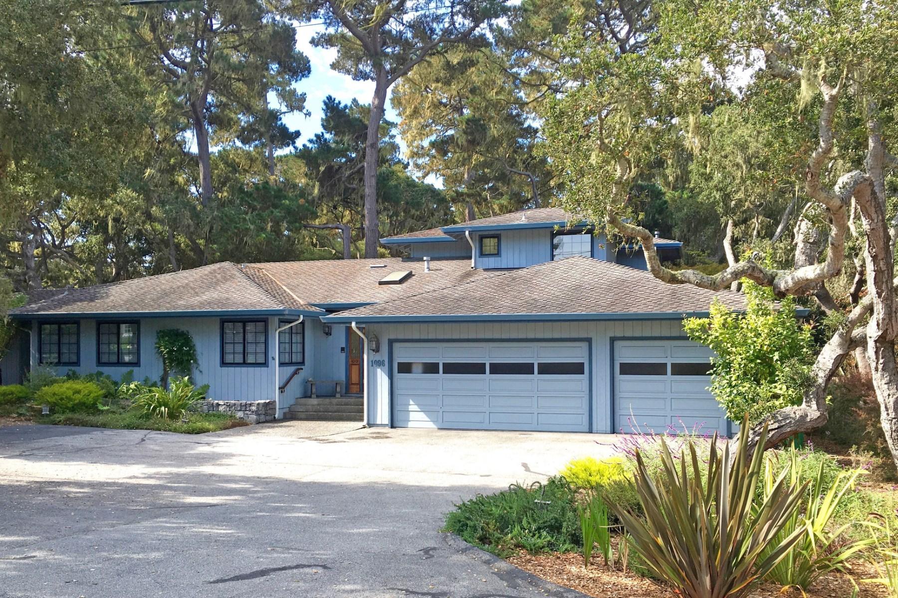 Vivienda unifamiliar por un Venta en Pebble Beach, California 1096 Sawmill Gulch Rd Pebble Beach, California, 93953 Estados Unidos