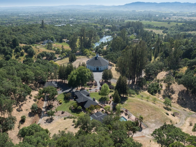 Single Family Home for Sale at Remarkable Wine Country Estate 1520 Mount Weske Dr Windsor, California 95492 United States