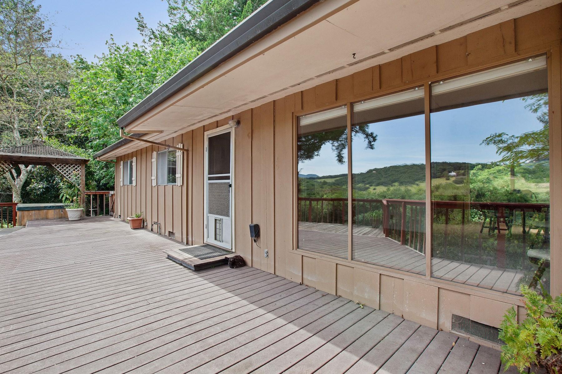 단독 가정 주택 용 매매 에 1395 Dawn Hill Road 1395 Dawn Hill Rd Glen Ellen, 캘리포니아, 95442 미국