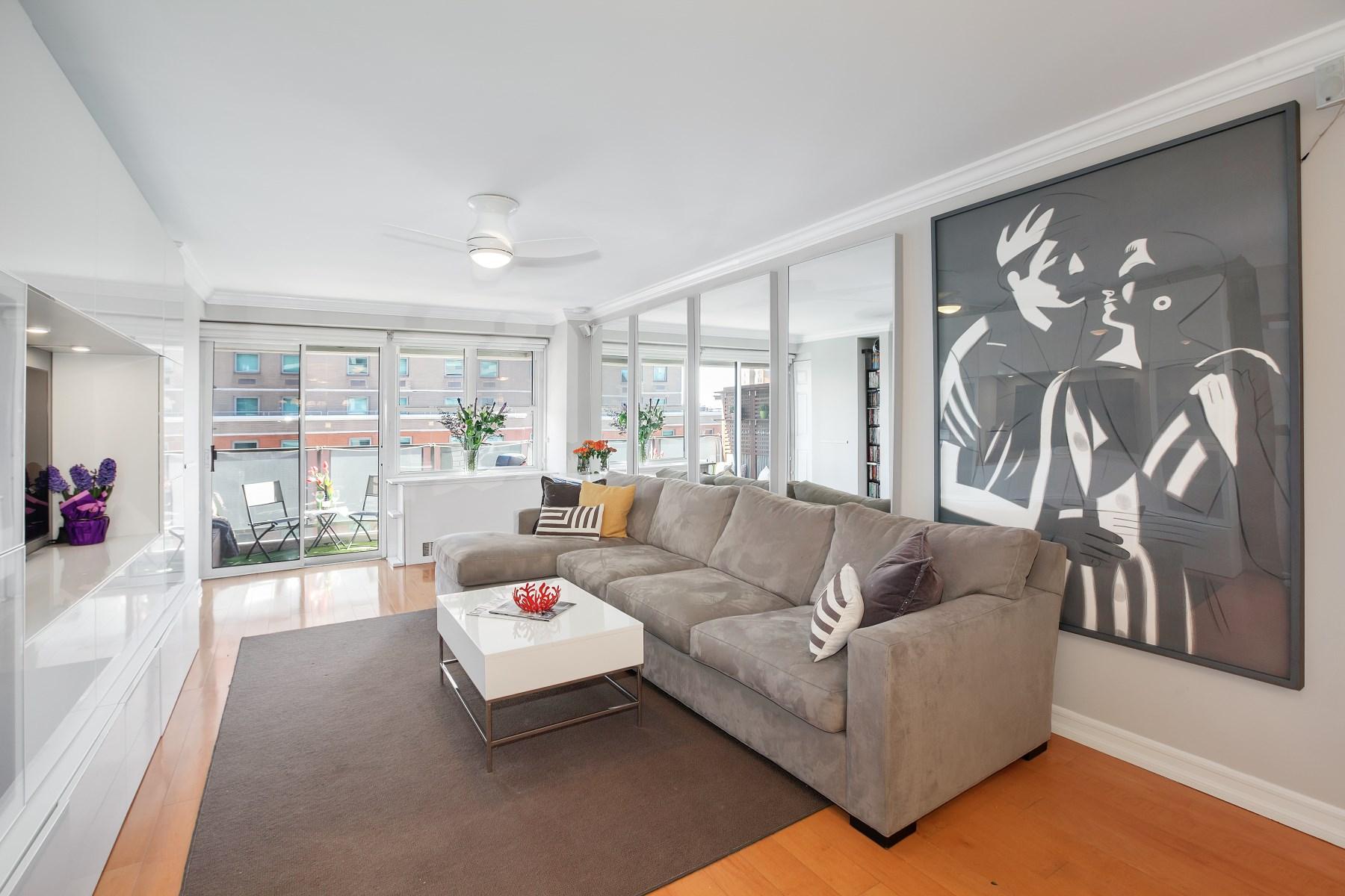 合作公寓 为 销售 在 Prime Village Modern Appeal 115 East 9th Street Apt 7E 纽约, 纽约州, 10003 美国