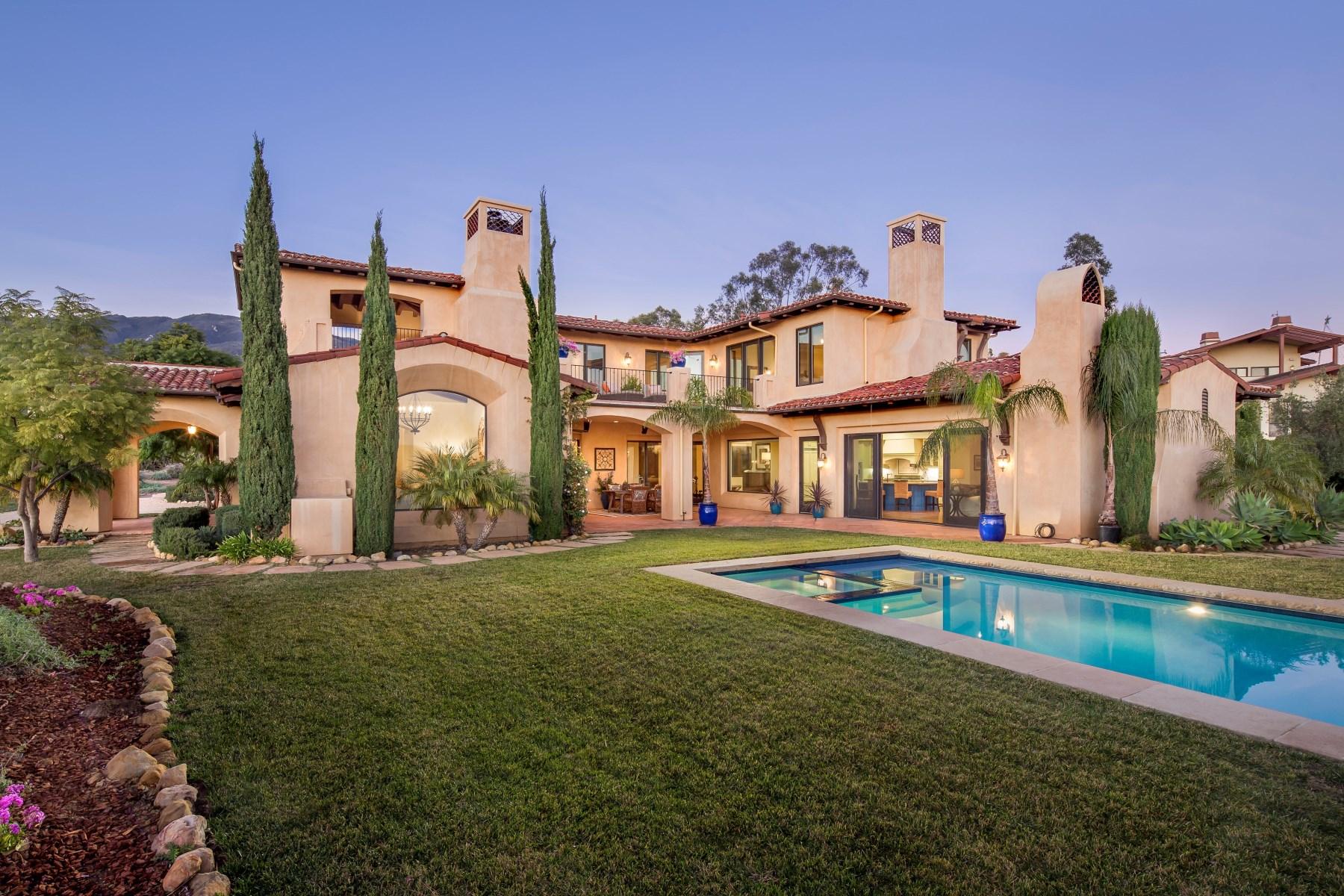 sales property at Luxurious Santa Barbara Villa