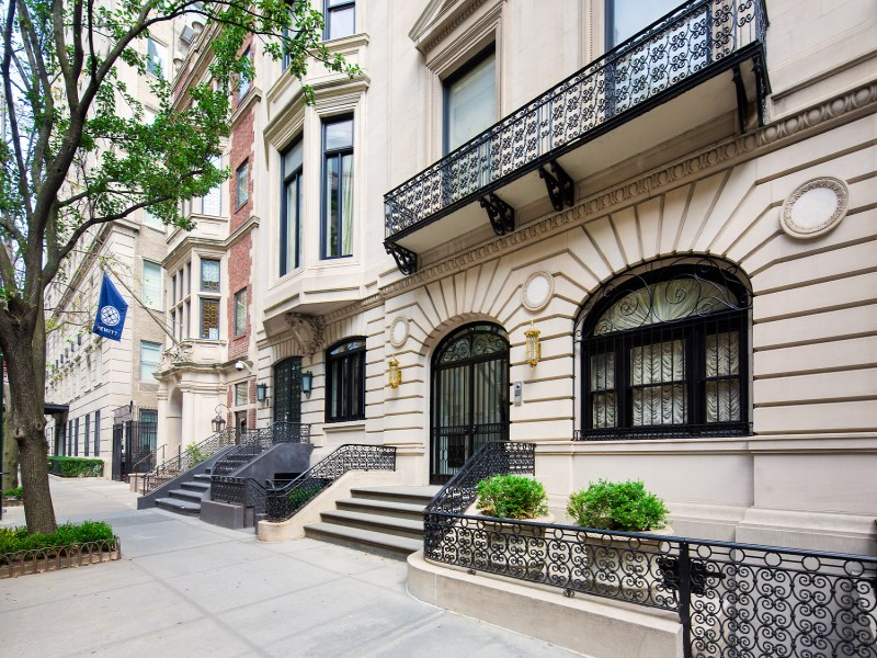 Maison unifamiliale pour l Vente à Limestone Mansion off Fifth Avenue 7 East 76th Street Upper East Side, New York, New York 10021 États-Unis