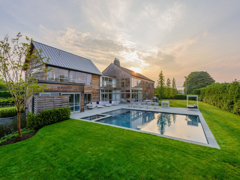 獨棟家庭住宅 為 出售 在 Chic Modern, Steps to the Ocean Bridgehampton South, Bridgehampton, 紐約州 11932 美國