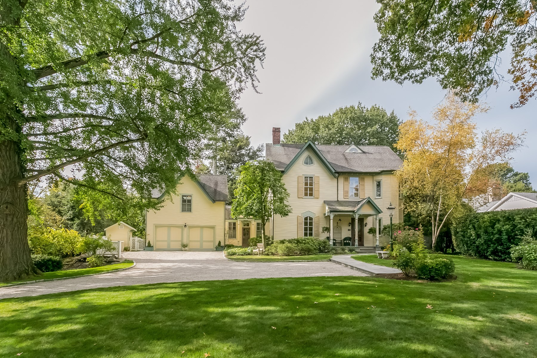 Single Family Home for Sale at Timelessly Appealing Riverside Classic 150 Riverside Avenue Riverside, Connecticut, 06878 United States