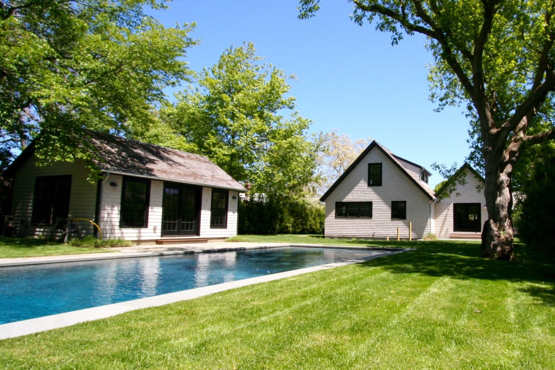 Single Family Home for Sale at Amagansett Beach House 18 Cross Highway Amagansett, New York 11937 United States