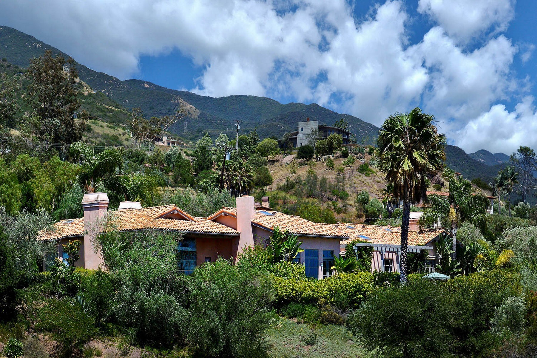 独户住宅 为 销售 在 Montecito Ocean View Estate 187 East Mountain Drive Montecito - Upper Village, 圣巴巴拉市, 加利福尼亚州, 93108 美国