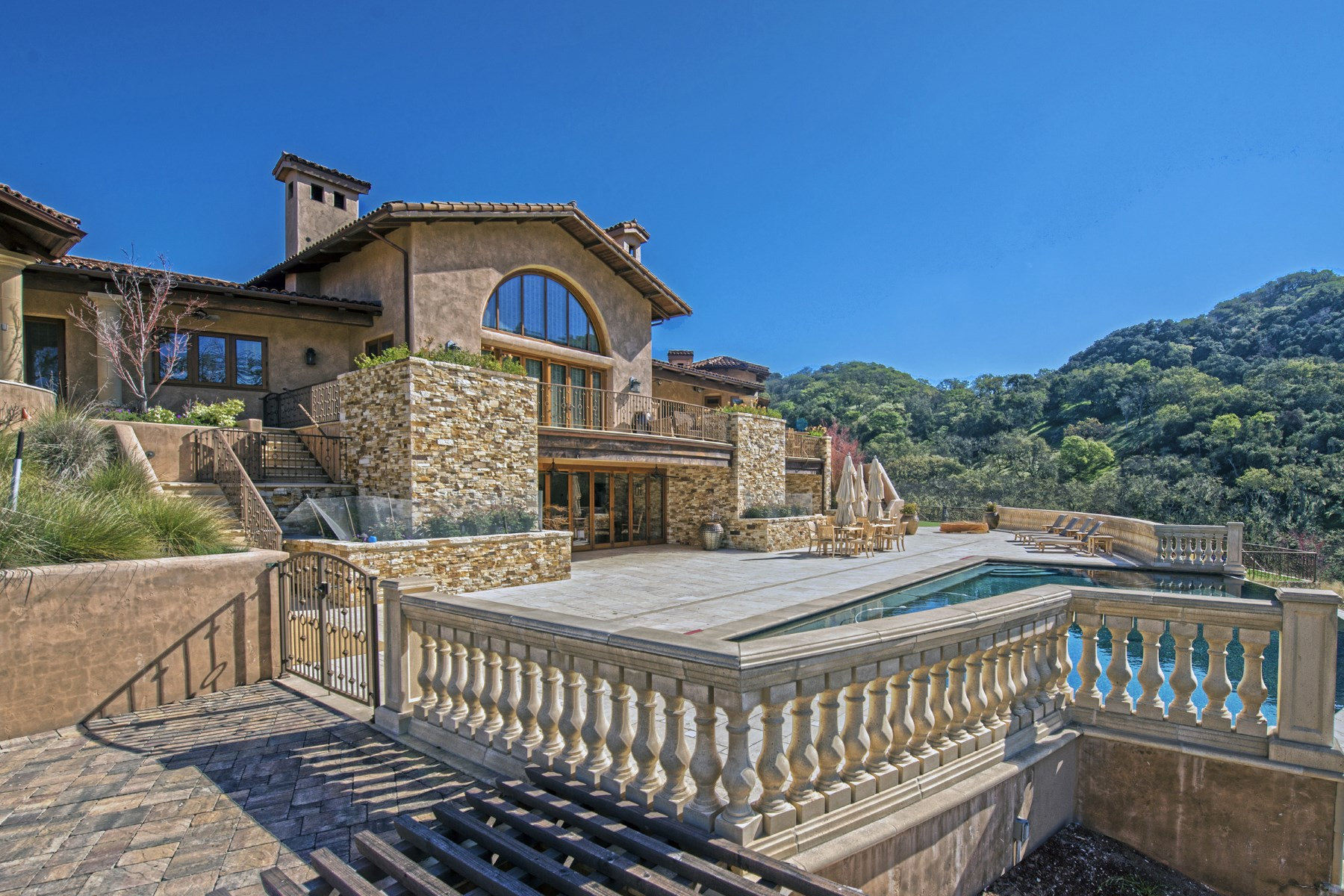 Single Family Home for Sale at Astonishing Approx. 53-Acre Estate 16 Vasquez Trail Carmel, California 93923 United States