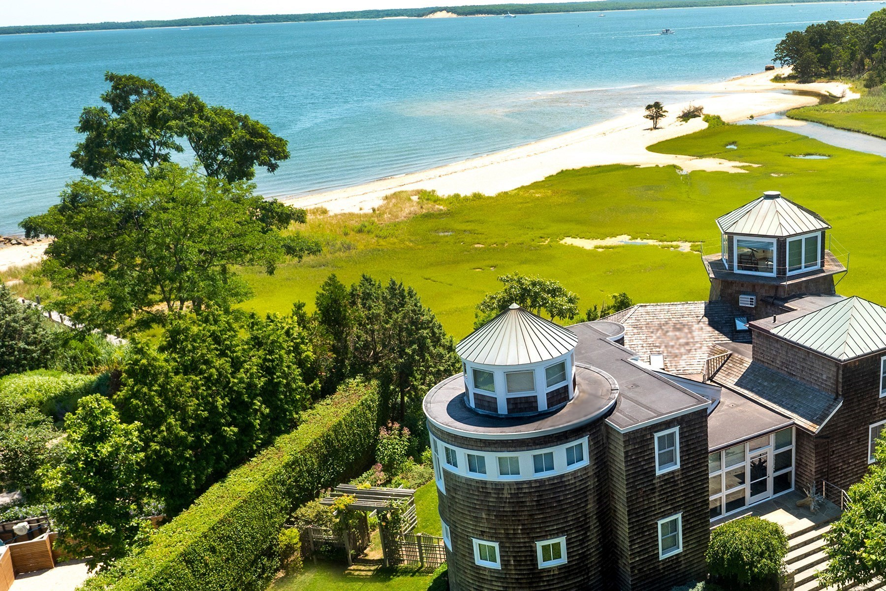 Single Family Home for Sale at Lookout on Soundview 59 Mashomuck Drive Sag Harbor, New York 11963 United States