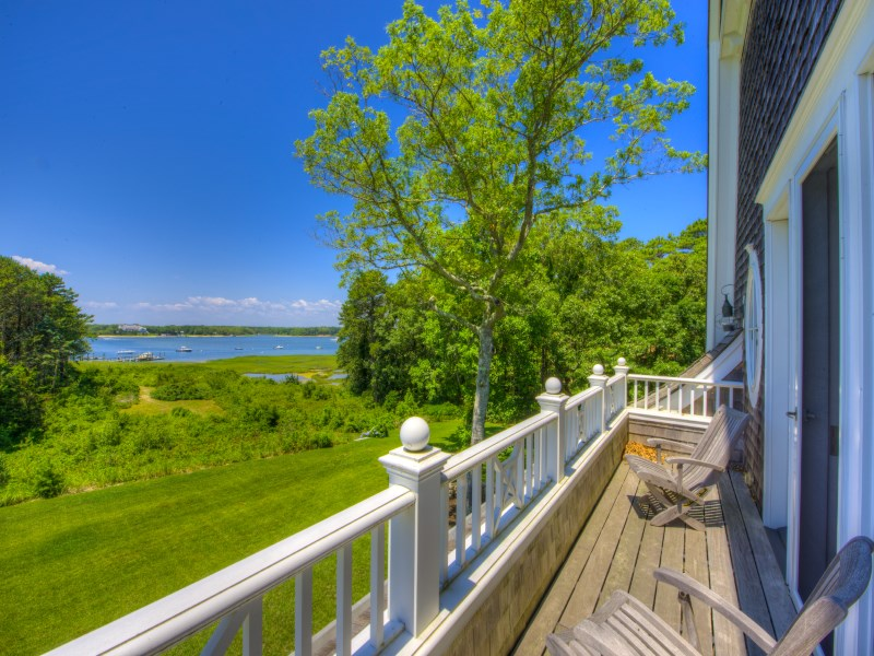 Single Family Home for Sale at Wianno Head Waterfront Estate 75 Bayberry Way Osterville, Massachusetts 02655 United States