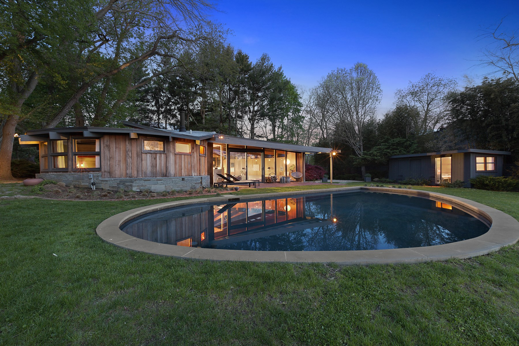 sales property at Artist's Own Mid-Century Masterpiece