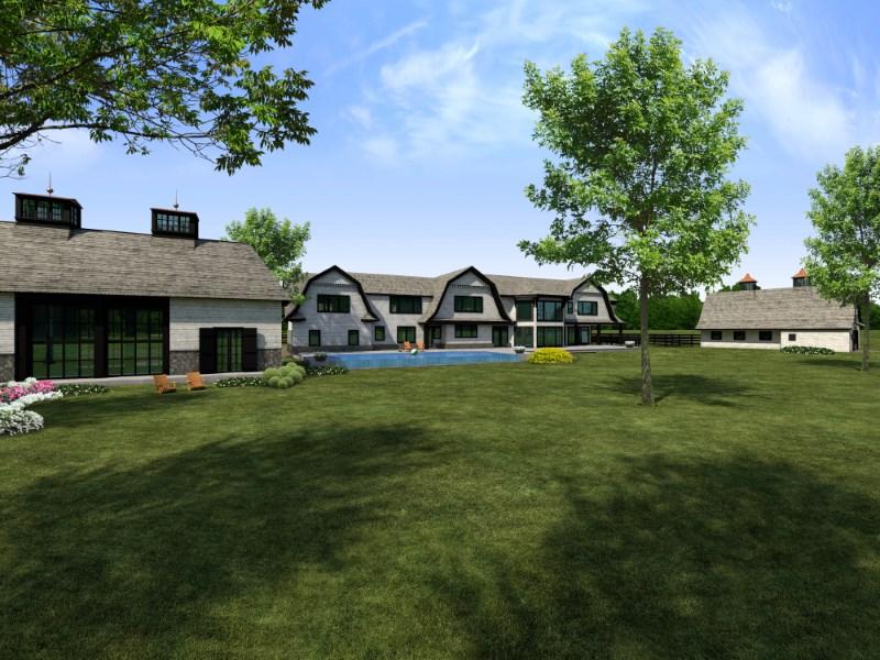 단독 가정 주택 용 매매 에 Fabulous Home to be Built in Mid-Country 495 North Street Mid-Country, Greenwich, 코네티컷 06830 미국