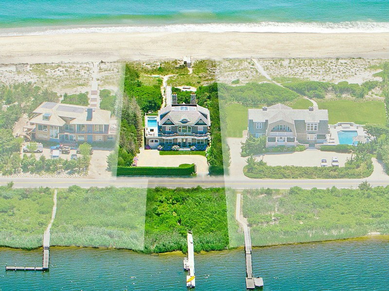 Single Family Home for Sale at Ocean and Bay Front Water Mill 1225 Flying Point Road Water Mill, New York 11976 United States
