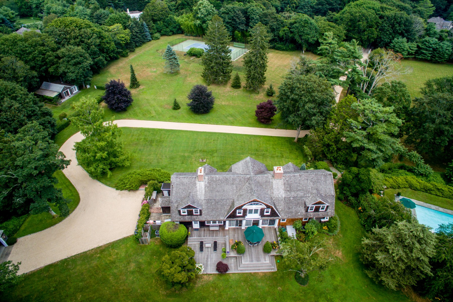 Single Family Home for Sale at Magnificent Pastoral Compound East Hampton, New York 11937 United States
