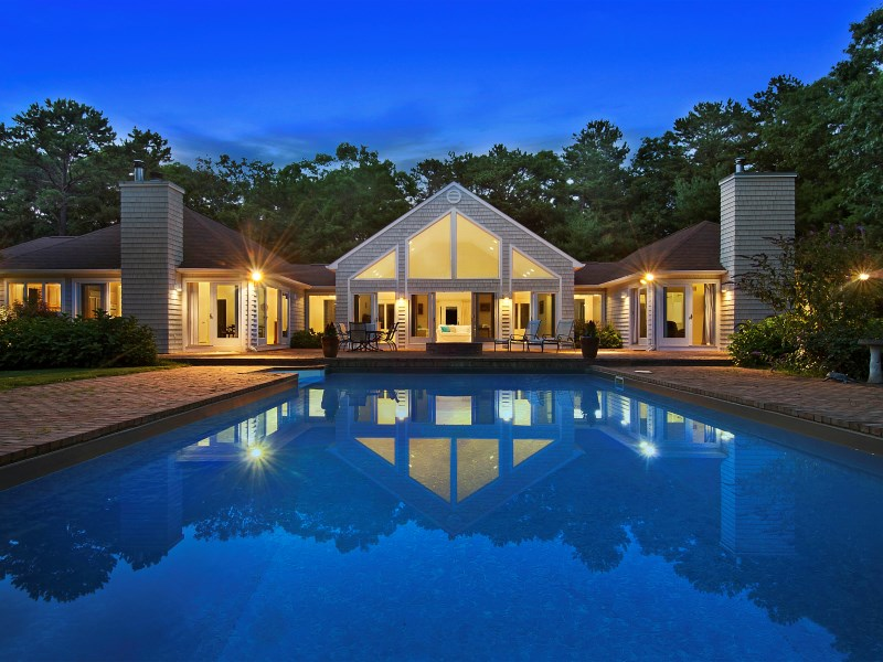 Single Family Home for Sale at Secluded East Hampton, Sunset Views East Hampton, New York 11937 United States