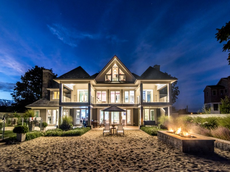 Single Family Home for Sale at Stunning Oceanfront Island Haven 50 Compo Mill Cove Westport, Connecticut 06830 United States