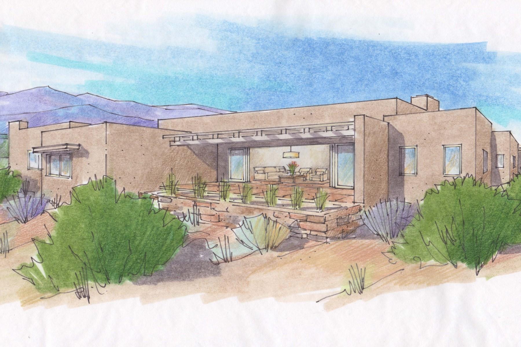 Maison unifamiliale pour l Vente à 2925 Aspen View Monte Sereno, Santa Fe, New Mexico 87506 États-Unis