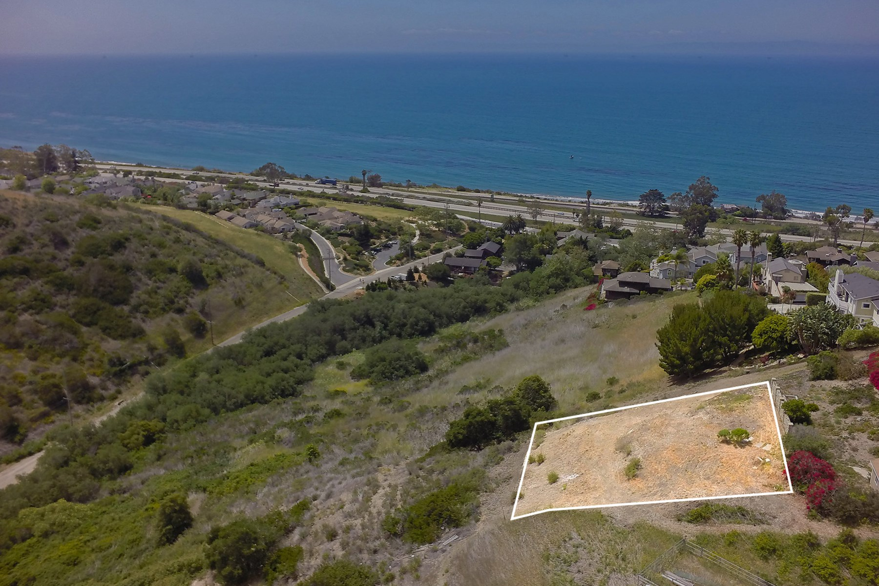 Single Family Home for Sale at Ocean View Site with Approved CDP 2560 Whitney Avenue Summerland, California 93067 United States