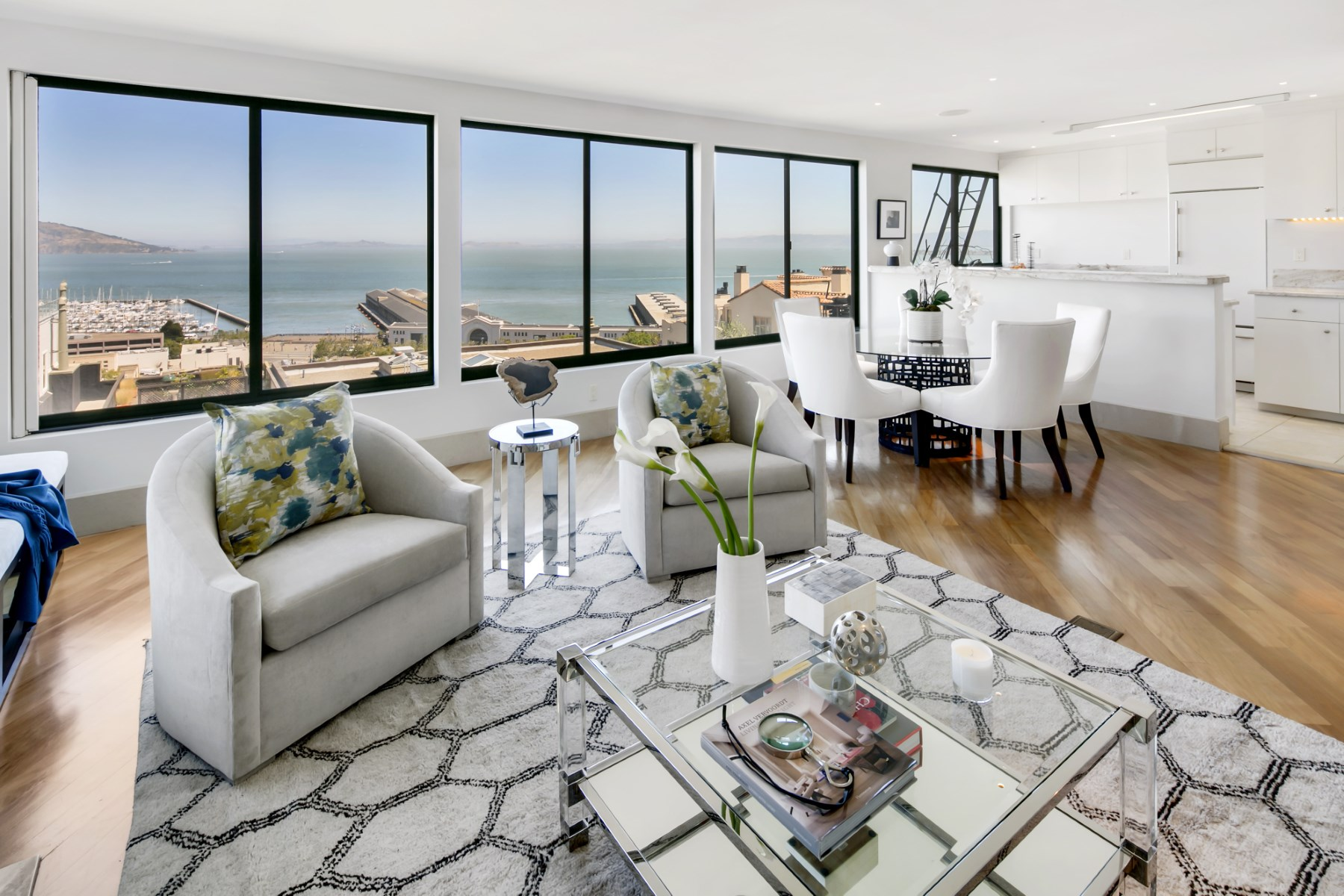 Condominium for Sale at Spacious Two-Level Home 1725 Kearny St Apt 1 Telegraph Hill, San Francisco, California, 94133 United States