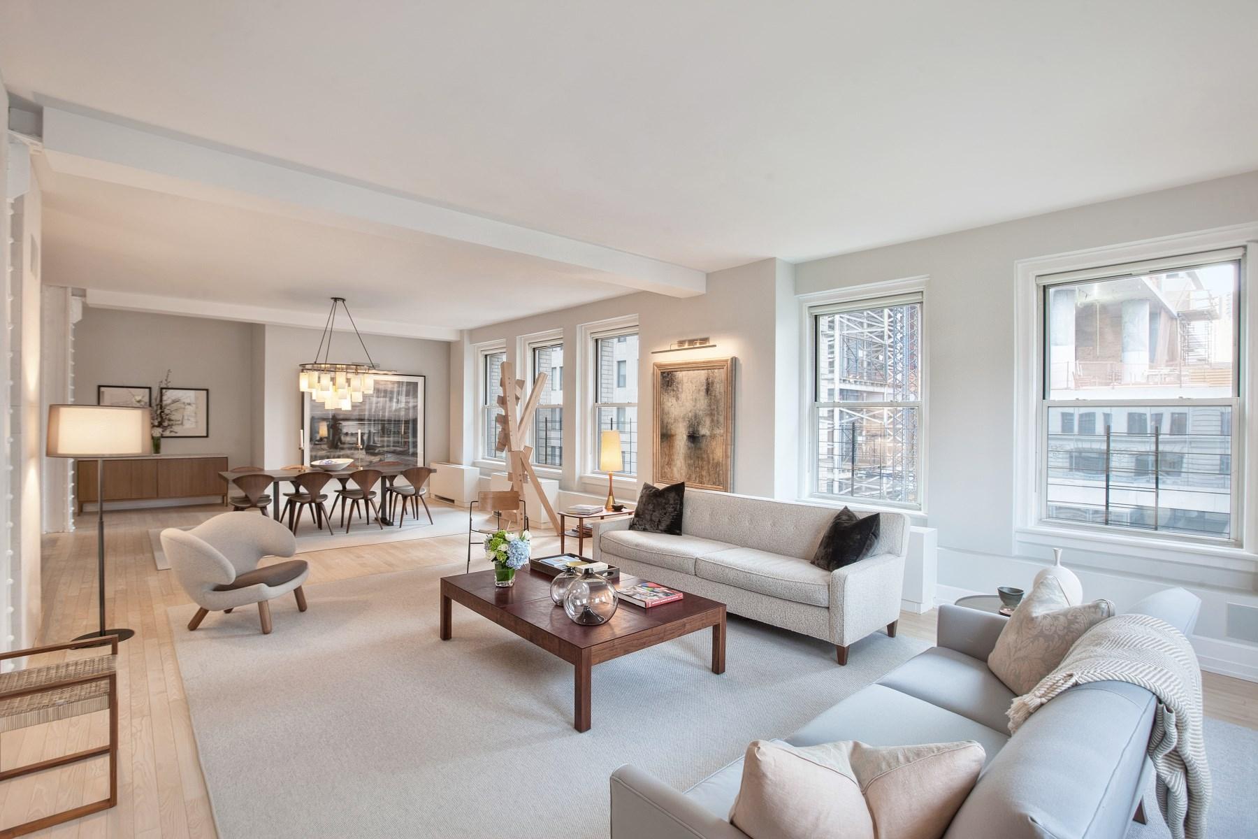 Eigentumswohnung für Verkauf beim 66 Leonard Street, 6B 66 Leonard Street Apt 6b Tribeca, New York, New York 10013 Vereinigte Staaten