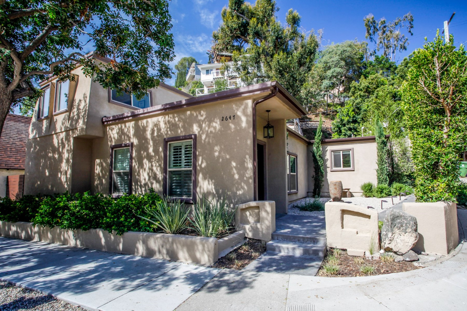 Single Family Home for Sale at Updated Bronson Canyon Park 2647 Canyon Drive Los Feliz, Los Angeles, California, 90068 United States