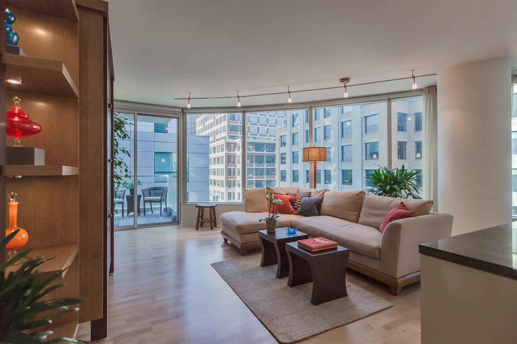 Nhà chung cư vì Bán tại Luxury 2-Bedroom Condo at The Infinity 338 Spear St Unit 6b South Beach, San Francisco, California 94105 Hoa Kỳ