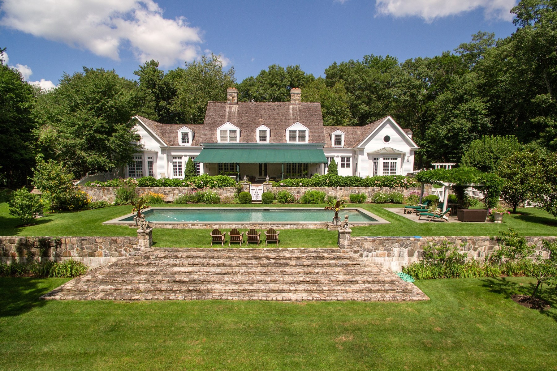 Single Family Home for Sale at 42 Lower Cross Road, Greenwich CT Greenwich, Connecticut, 06831 United States