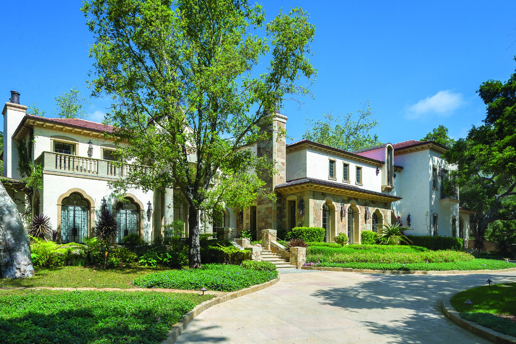 Casa Unifamiliar por un Venta en Montecito Estate 1240 East Valley Road Montecito - Upper Village, Montecito, California, 93108 Estados Unidos