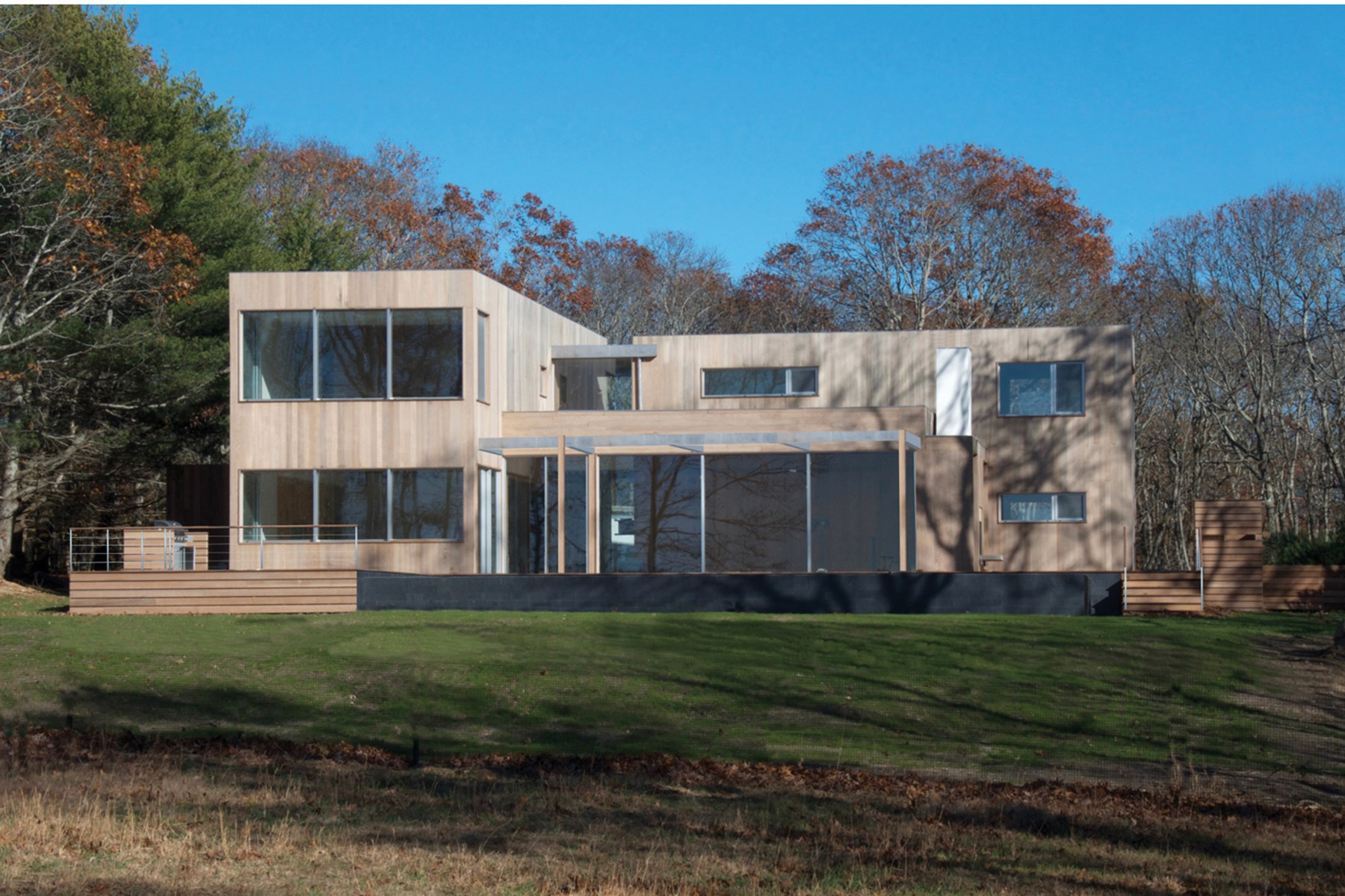 Maison unifamiliale pour l Vente à New Modern Construction in Amagansett 22 Scrimshaw Lane Amagansett, New York 11930 États-Unis