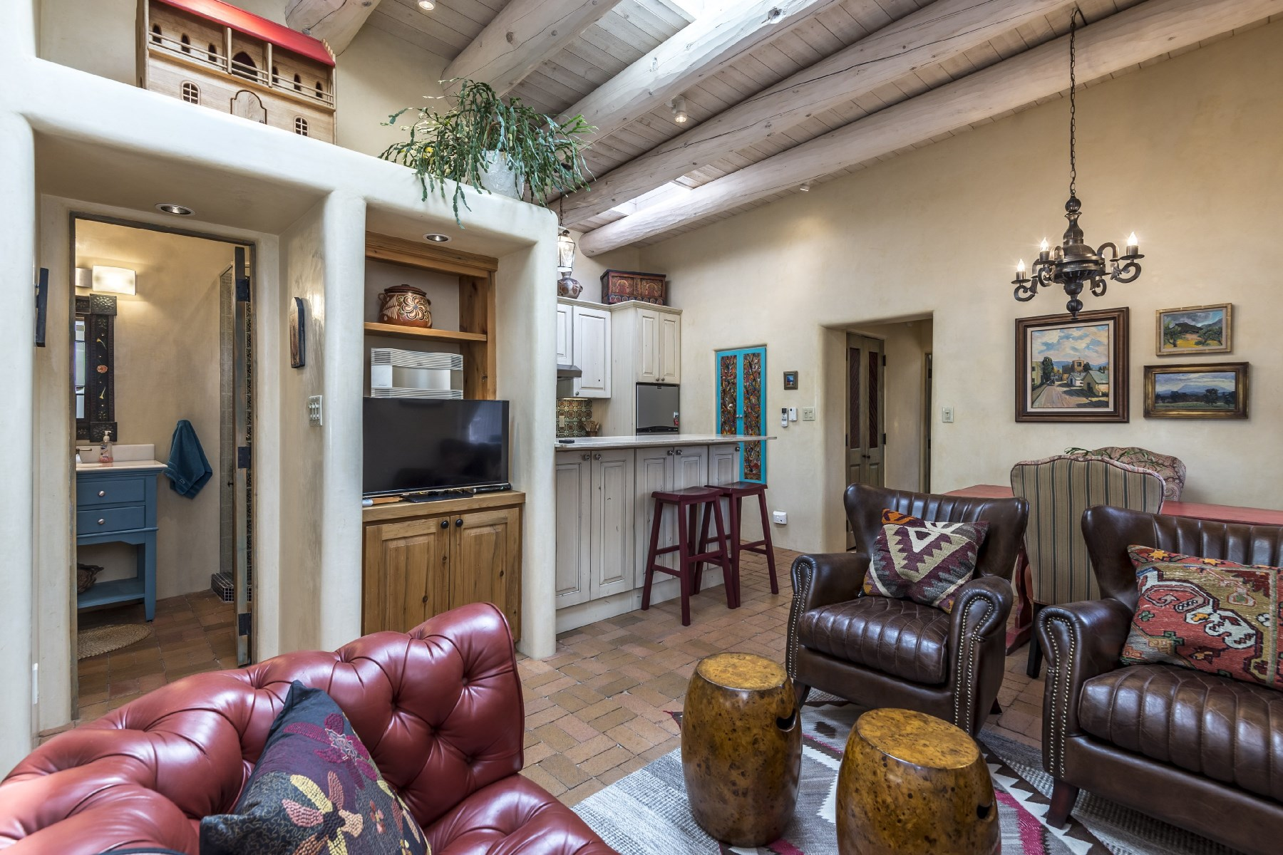 Condominium for Sale at 729 E. Palace Avenue #E Santa Fe, New Mexico, 87501 United States
