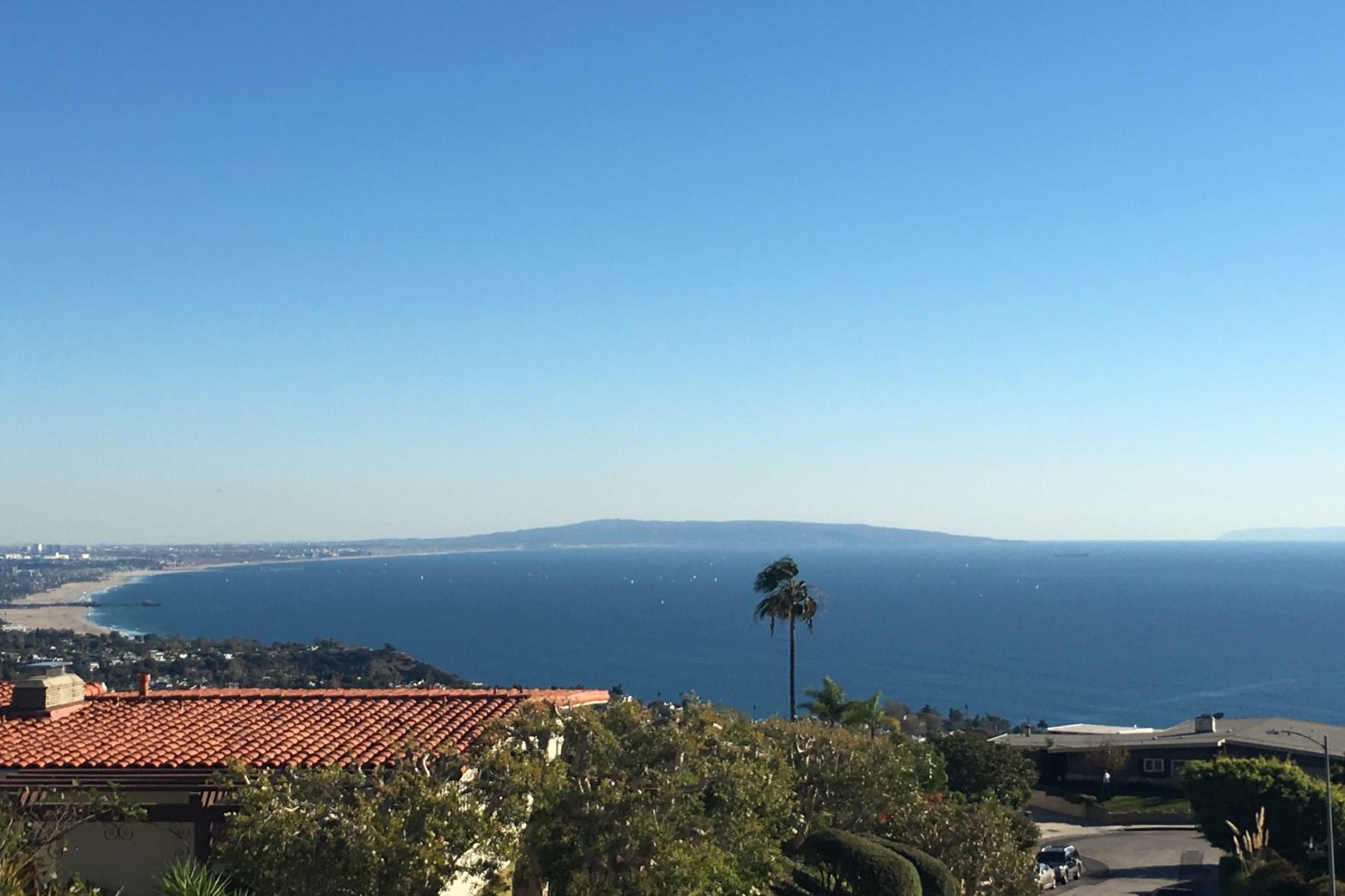 Частный односемейный дом для того Продажа на Spectacular Jetliner Views 1099 Vista Grande Drive Pacific Palisades, Калифорния, 90272 Соединенные Штаты