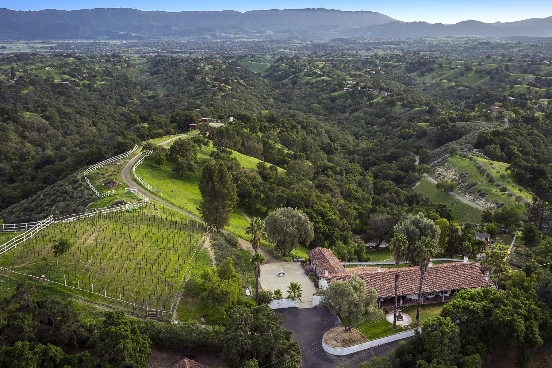 Land for Sale at Panoramic Santa Ynez Valley Views 4000 West Oak Trail Road Santa Ynez, California, 93460 United States