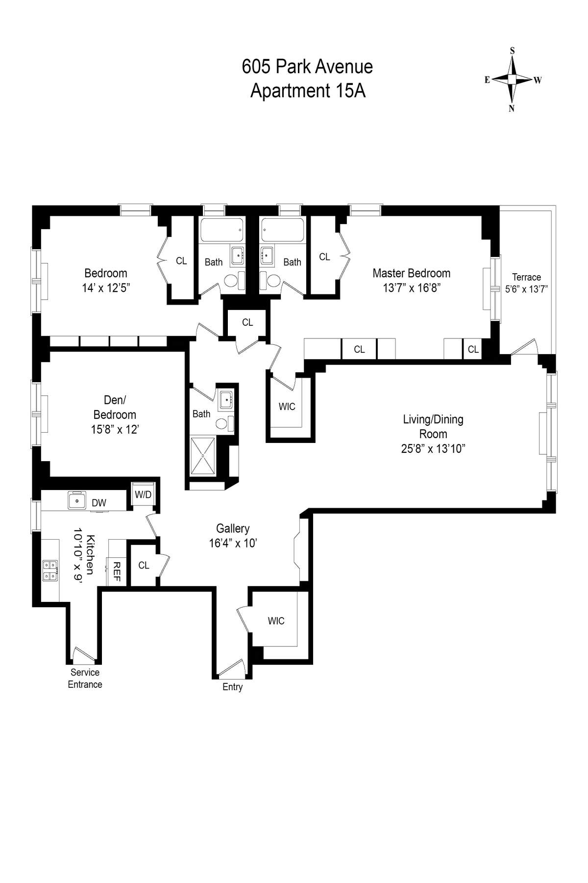 Co-op for Sale at 605 Park Avenue Apt 15A 605 Park Avenue Apt 15A New York, New York 10065 United States