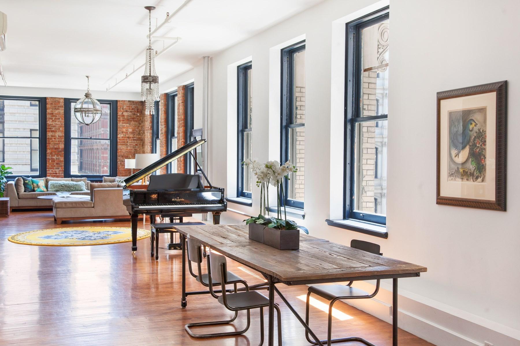 Coopérative pour l Vente à Flatiron Fifth Avenue Loft New York, New York, 10011 États-Unis