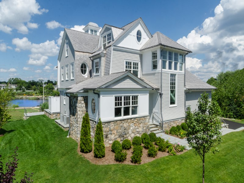 Single Family Home for Sale at Lucas Point Waterfront 5 North Crossway Old Greenwich, Connecticut 06870 United States