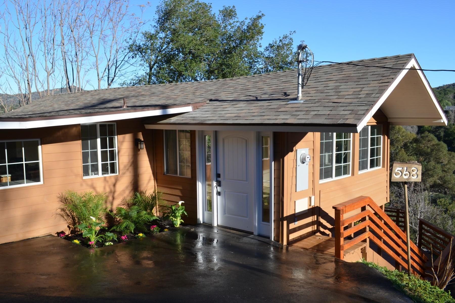 Частный односемейный дом для того Продажа на Canon view Trail 568 Canon View Trail Topanga, Калифорния 90290 Соединенные Штаты