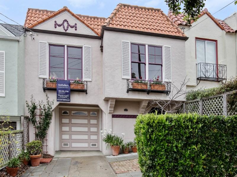 獨棟家庭住宅 為 出售 在 Charming Ocean View Home 2167 25th Ave San Francisco, 加利福尼亞州 94116 美國