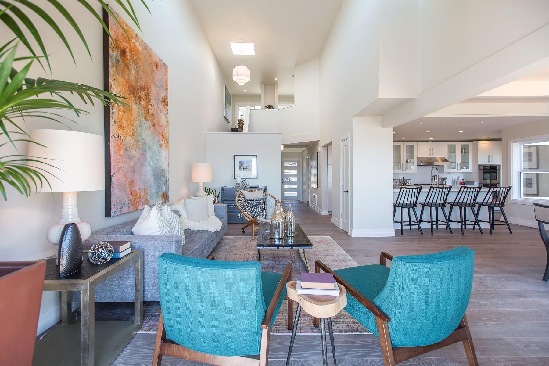 獨棟家庭住宅 為 出售 在 Modern Elegance Atop Golden Gate Heights 1765 15th Ave San Francisco, 加利福尼亞州 94122 美國