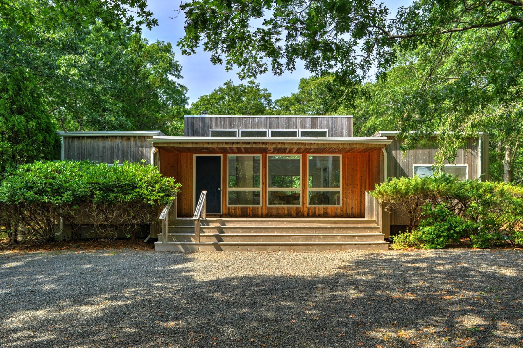 단독 가정 주택 용 매매 에 Cool Contemporary East Hampton North 28 Diane Drive East Hampton, 뉴욕, 11937 미국