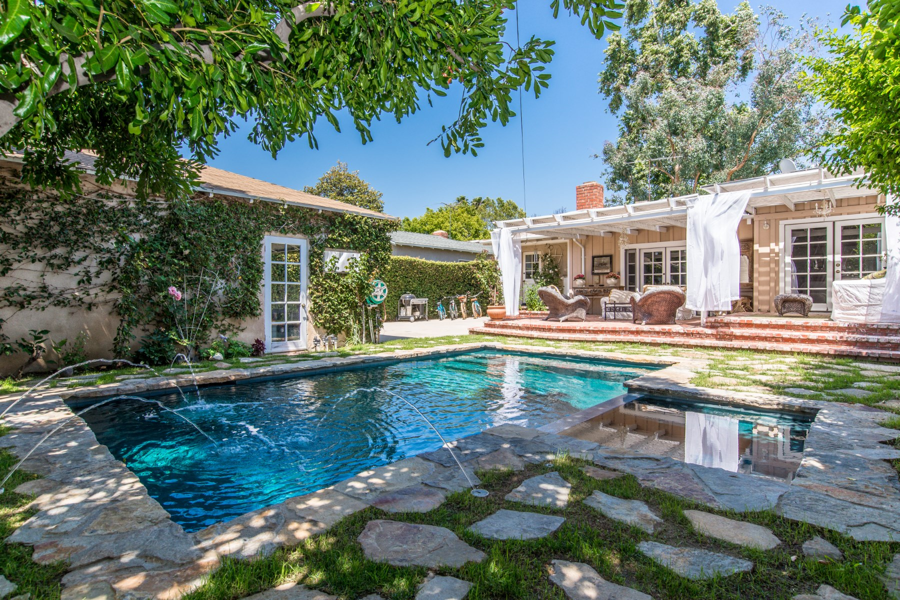 sales property at Beautiful Single Story in Studio City
