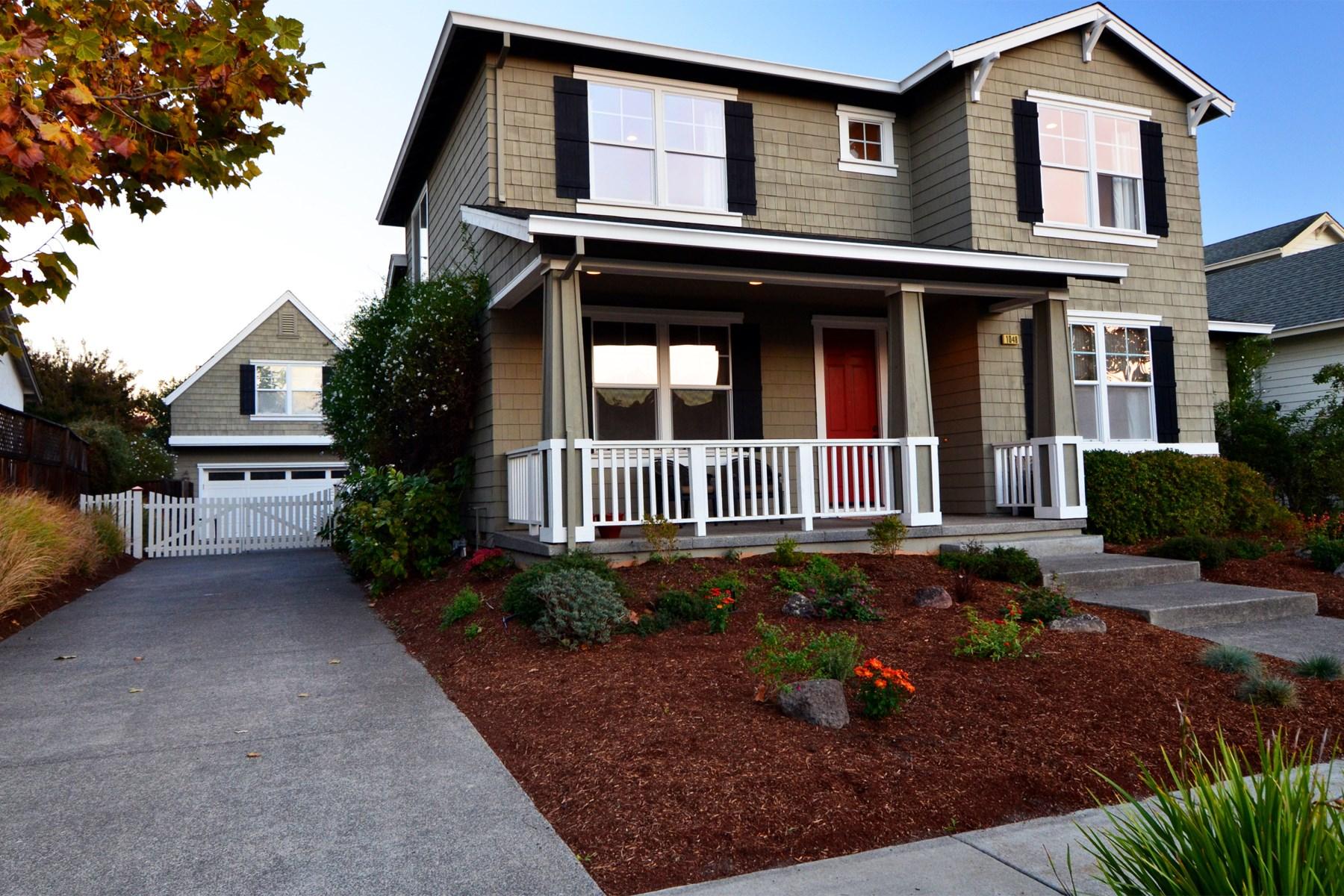 Casa para uma família para Venda às Waterstone Craftsman-Style Home 1048 Fryer Creek Dr Sonoma, Califórnia 95476 Estados Unidos