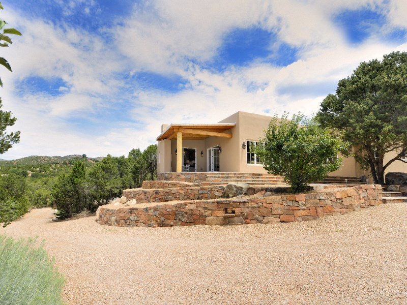 Single Family Home for Sale at 5 A & B Ravens Ridge Trail Santa Fe, New Mexico 87505 United States