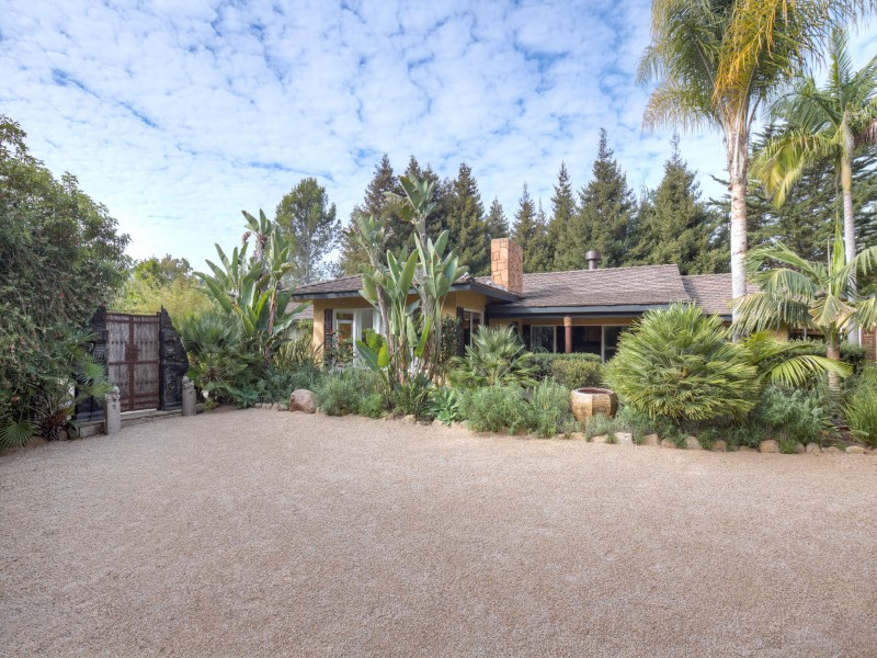 Single Family Home for Sale at Tranquil Balinese Style 1128 Dulzura Drive Santa Barbara, California 93108 United States