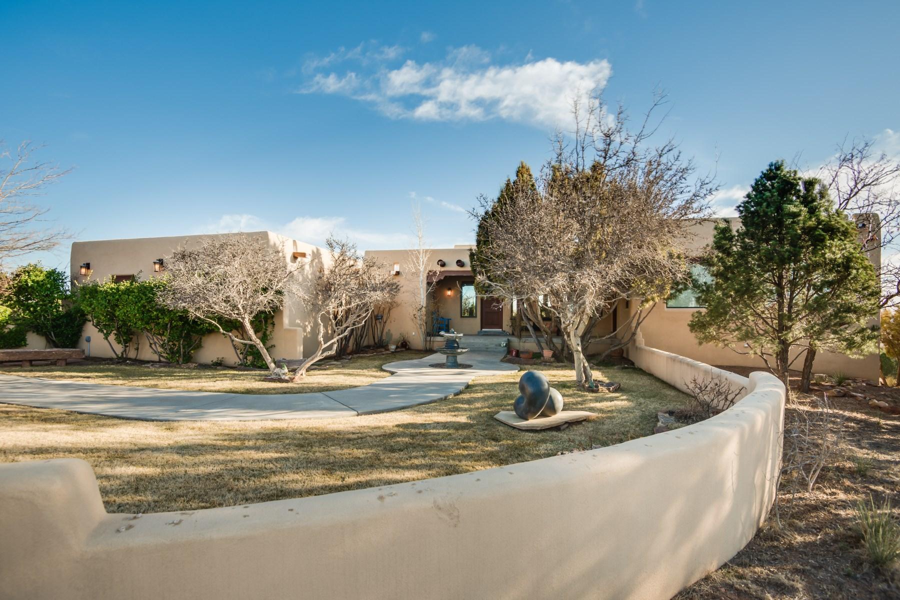 Single Family Home for Sale at 16 E Paseo Del Caballo 16 Paseo Del Caballo E Santa Fe, New Mexico, 87508 United States