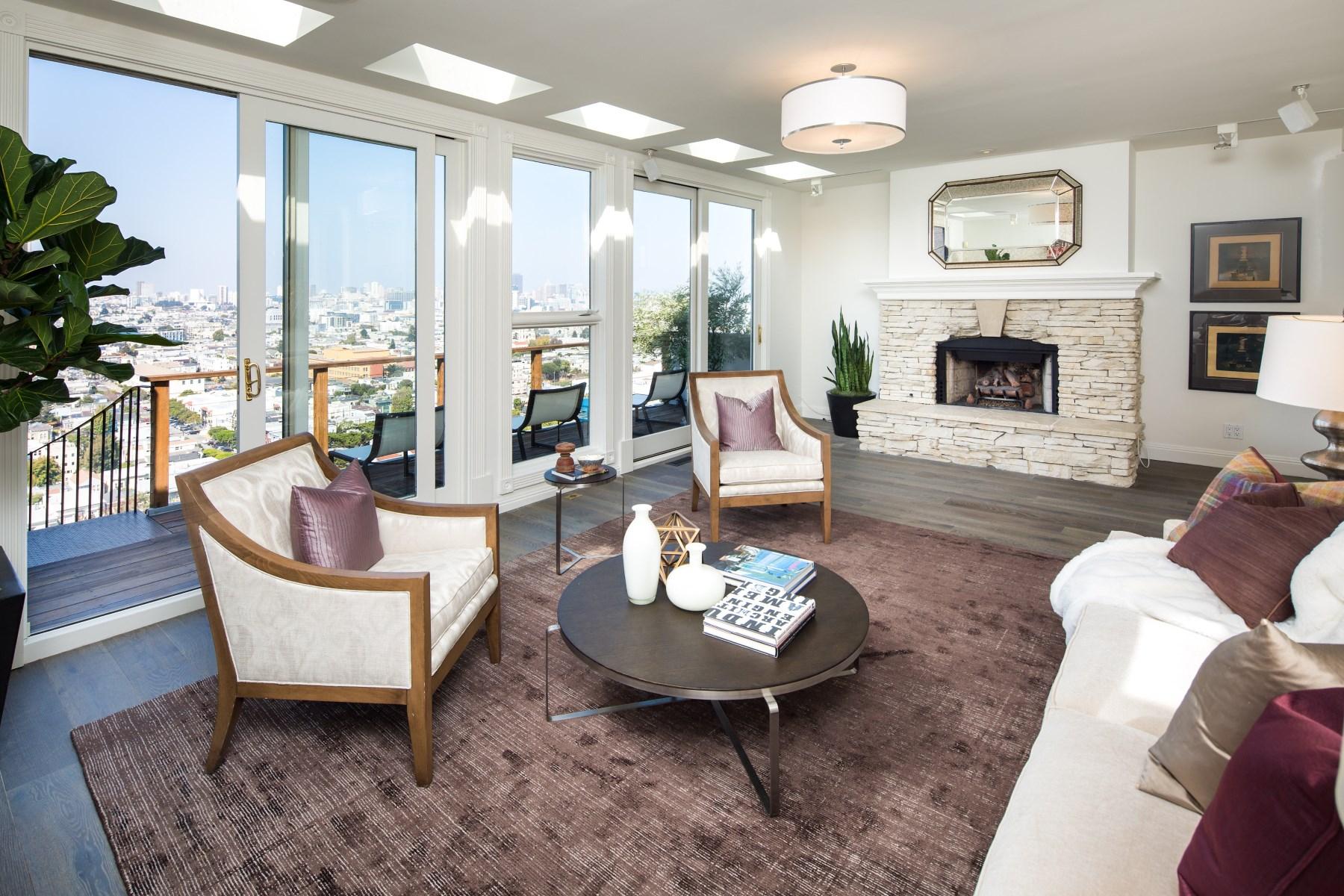 Einfamilienhaus für Verkauf beim Commanding Views on Coveted Cumberland 340 Cumberland St San Francisco, Kalifornien, 94114 Vereinigte Staaten